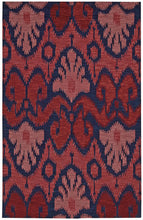 Load image into Gallery viewer, Nourison Siam Navy Red Area Rug SIA04 NAVRD