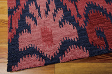 Load image into Gallery viewer, Nourison Siam Navy Red Area Rug SIA04 NAVRD (Rectangle)