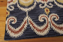 Load image into Gallery viewer, Nourison Siam Indigo Area Rug SIA07 IND (Rectangle)
