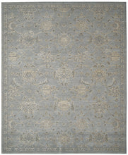 Load image into Gallery viewer, Nourison Silk Infusion Blue Area Rug SIF01 BL