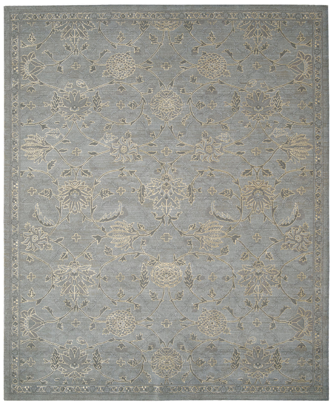 Nourison Silk Infusion Blue Area Rug SIF01 BL