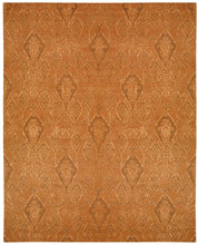 Load image into Gallery viewer, Nourison Silk Infusion Dark Rust Area Rug SIF03 DKRUS