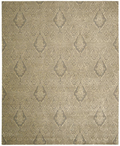 Nourison Silk Infusion Grey Area Rug SIF03 GRY