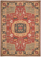Load image into Gallery viewer, Nourison Nourmak Red Area Rug SK63 RED