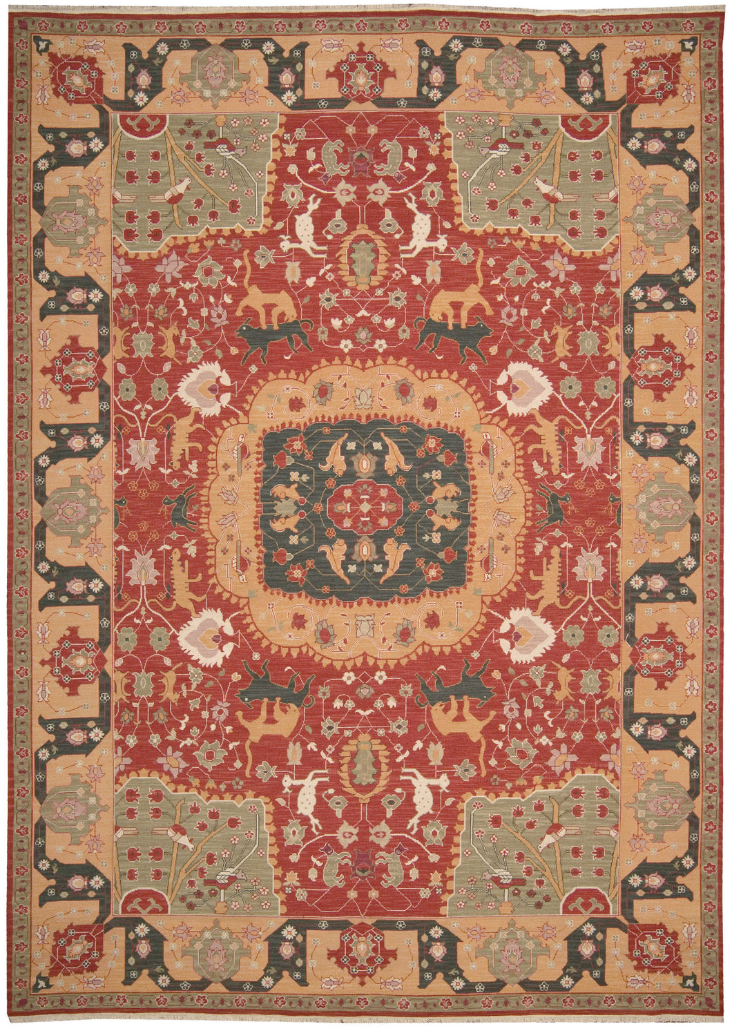 Nourison Nourmak Red Area Rug SK63 RED
