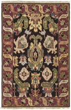 Load image into Gallery viewer, Nourison Nourmak Black Area Rug SK70 BLK
