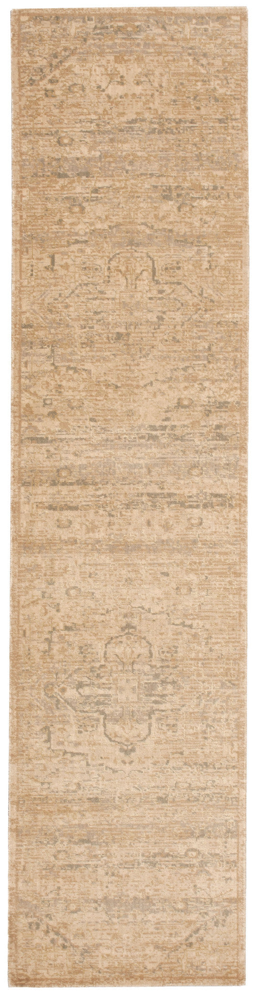 Nourison Silk Elements Sand Area Rug SKE14 SAN