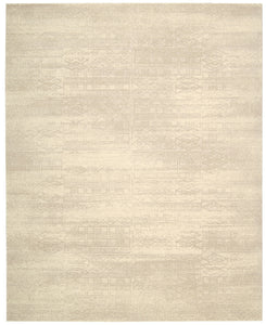 Nourison Silk Elements Bone Area Rug SKE21 BONE