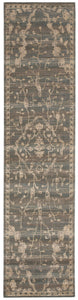 Nourison Silk Elements Azure Area Rug SKE30 AZU