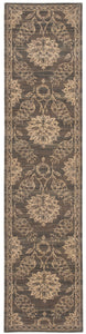 Nourison Silk Elements Graphite Area Rug SKE31 GRAPH