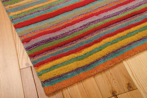 Nourison Skyland Stripe Area Rug SKY02 STRIP (Rectangle)