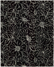 Load image into Gallery viewer, Nourison Skyland Black Ivory Area Rug SKY04 BLKIV