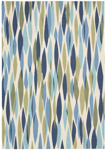 Waverly Sun & Shade Bits & Pieces Seaglass Area Rug By Nourison SND01 SEAGL