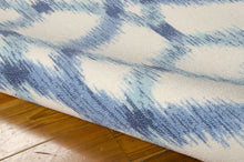 Load image into Gallery viewer, Waverly Sun & Shade Izmir Ikat Aegean Area Rug By Nourison SND05 AEGEA (Rectangle)