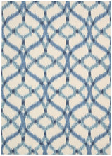 Load image into Gallery viewer, Waverly Sun & Shade Izmir Ikat Aegean Area Rug By Nourison SND05 AEGEA