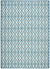 Load image into Gallery viewer, Waverly Sun & Shade Centro Azure Area Rug By Nourison SND19 AZU