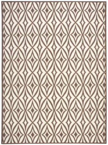 Waverly Sun & Shade Centro Flint Area Rug By Nourison SND19 FLINT