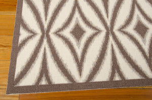 Waverly Sun & Shade Centro Flint Area Rug By Nourison SND19 FLINT (Rectangle)