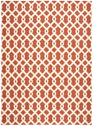 Waverly Sun & Shade Ellis Sienna Area Rug By Nourison SND20 SIE