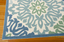 Load image into Gallery viewer, Waverly Sun & Shade Sweet Things Marine Area Rug By Nourison SND23 MARIN (Rectangle)