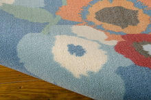 Load image into Gallery viewer, Waverly Sun & Shade Pic-A Poppy Blue Bell Area Rug By Nourison SND27 BLBEL (Rectangle)