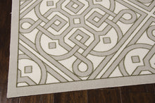 Load image into Gallery viewer, Waverly Sun & Shade Lace It Up Stone Area Rug By Nourison SND31 STONE (Rectangle)