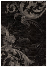 Load image into Gallery viewer, Nourison Soho Black Grey Area Rug SOH05 BLKGY