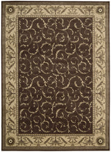 Load image into Gallery viewer, Nourison Somerset Brown Area Rug ST02 BRN