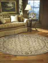 Load image into Gallery viewer, Nourison Somerset Ivory Area Rug ST02 IV (Round)