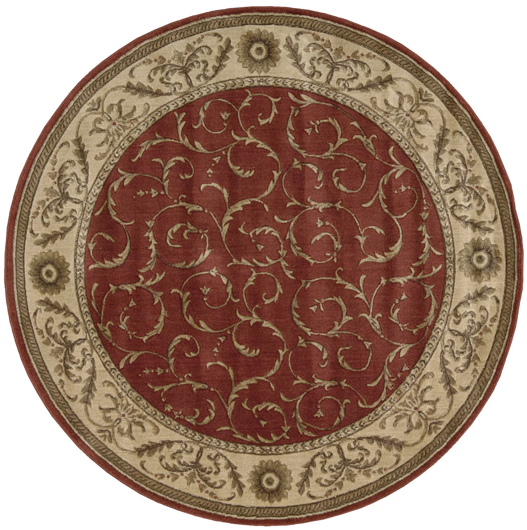 Nourison Somerset Red Area Rug ST02 RED