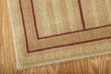 Load image into Gallery viewer, Nourison Somerset Gold Area Rug ST17 GLD (Rectangle)