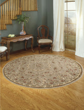 Load image into Gallery viewer, Nourison Somerset Mocha Area Rug ST68 MOC (Round)