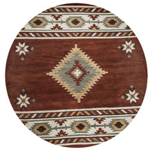 Load image into Gallery viewer, Rizzy Home Southwest SU1822 Rust Southwest/Tribal Area Rug