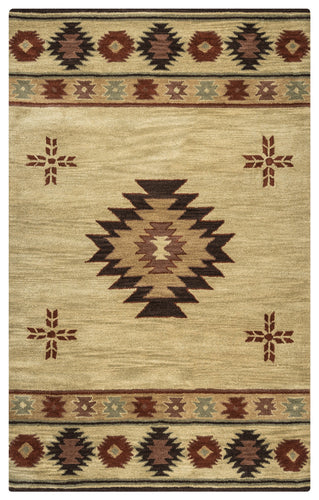 Rizzy Home Southwest SU2007 Khaki Southwest/Tribal Area Rug