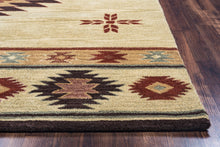 Load image into Gallery viewer, Rizzy Home Southwest SU2007 Khaki Southwest/Tribal Area Rug