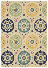 Load image into Gallery viewer, Nourison Suzani Ivory Area Rug SUZ01 IV