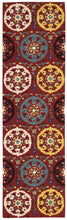Load image into Gallery viewer, Nourison Suzani Red Area Rug SUZ01 RED