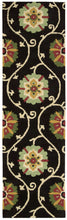 Load image into Gallery viewer, Nourison Suzani Black Area Rug SUZ03 BLK
