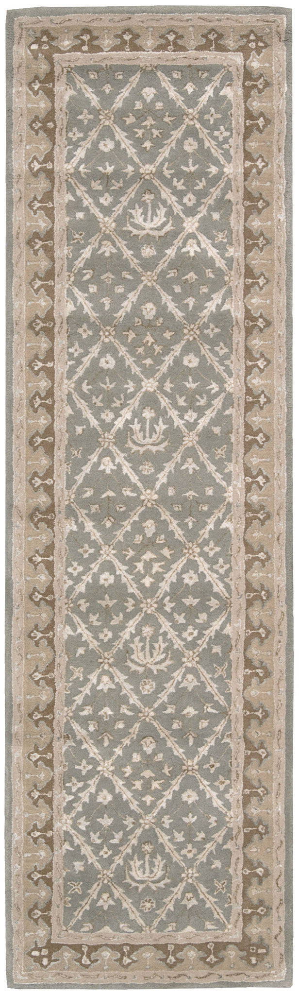 Nourison Symphony Light Green Area Rug SYM01 LTG