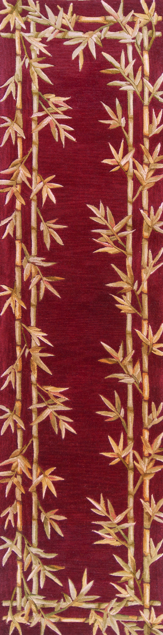 Kas Rugs Sparta 3145 Red Bamboo Double Border Area Rug