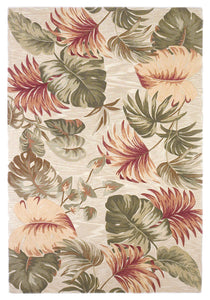 Kas Rugs Sparta 3148 Beige Palm Leaves Area Rug