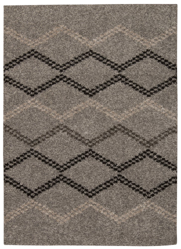 Nourison Tangier Silver Area Rug TAN01 SIL