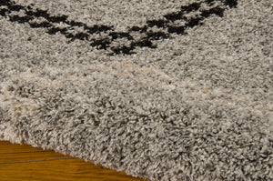 Nourison Tangier Silver Area Rug TAN01 SIL (Rectangle)