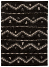 Load image into Gallery viewer, Nourison Tangier Black Area Rug TAN04 BLK
