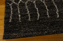 Load image into Gallery viewer, Nourison Tangier Black Area Rug TAN05 BLK (Rectangle)