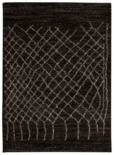Load image into Gallery viewer, Nourison Tangier Black Area Rug TAN05 BLK