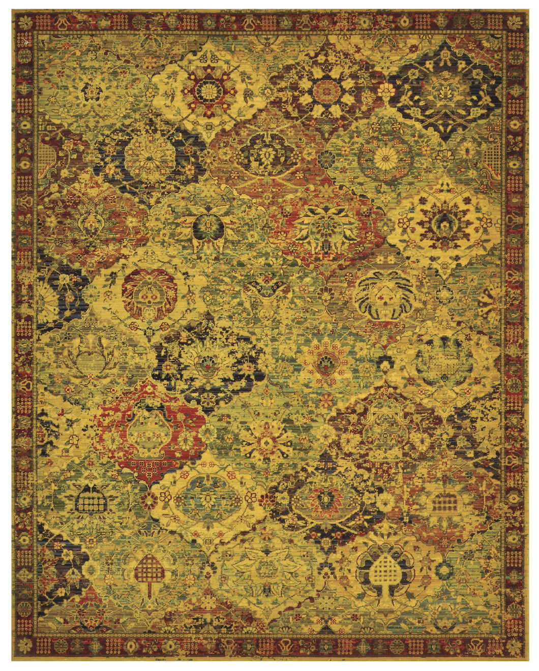 Nourison Timeless Multicolor Area Rug TML03 MTC