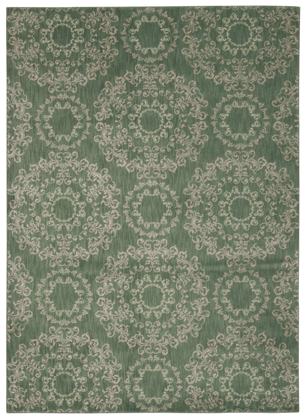 Nourison Tranquility Light Green Area Rug TNQ03 LTG