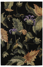 Load image into Gallery viewer, Nourison Tropics Black Area Rug TS05 BLK