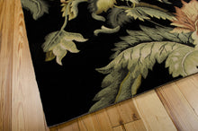 Load image into Gallery viewer, Nourison Tropics Black Area Rug TS05 BLK (Rectangle)